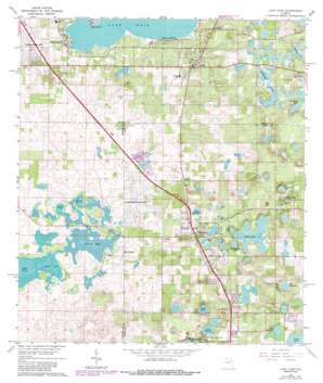 Lady Lake USGS topographic map 28081h8