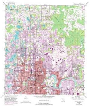 Sulphur Springs topo map