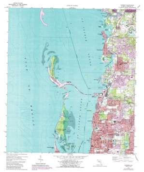 Dunedin USGS topographic map 28082a7