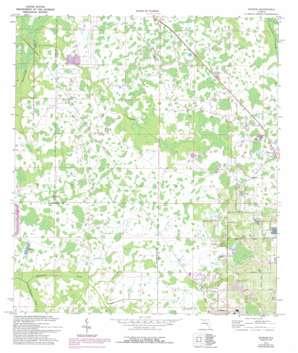 Socrum USGS topographic map 28082b1