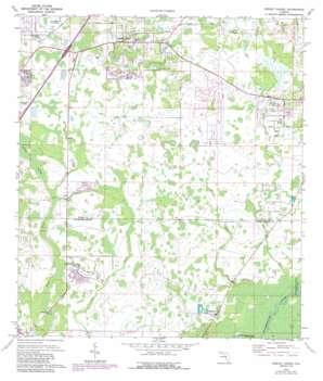 Wesley Chapel USGS topographic map 28082b3