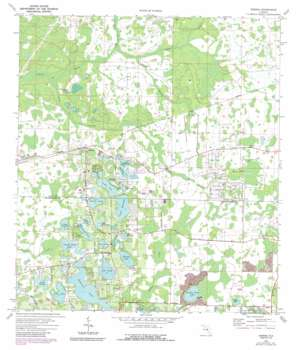 Odessa USGS topographic map 28082b5