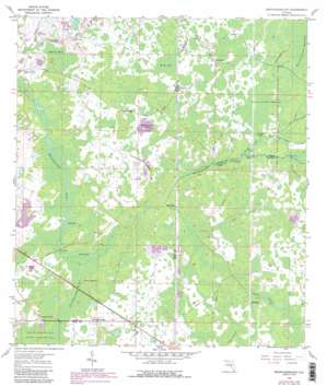 Branchborough USGS topographic map 28082c1