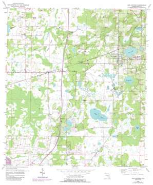 San Antonio USGS topographic map 28082c3