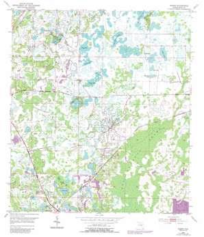 Ehren USGS topographic map 28082c4