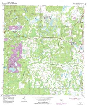 Fivay Junction USGS topographic map 28082c5