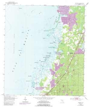Aripeka USGS topographic map 28082d6