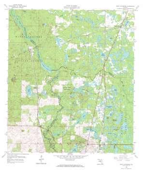 Saint Catherine USGS topographic map 28082e2