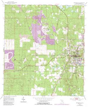Brooksville USGS topographic map 28082e4