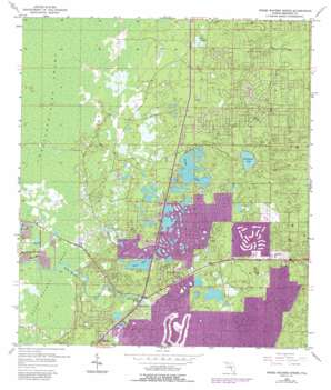 Weeki Wachee Spring USGS topographic map 28082e5
