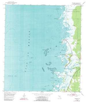 Bayport USGS topographic map 28082e6