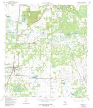 Bushnell USGS topographic map 28082f1