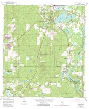 Nobelton USGS topographic map 28082f3