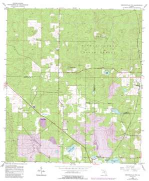 Brooksville Nw USGS topographic map 28082f4