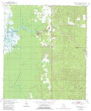 Chassahowitzka USGS topographic map 28082f5