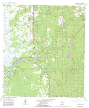 Homosassa USGS topographic map 28082g5