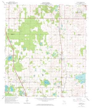 Oxford USGS topographic map 28082h1