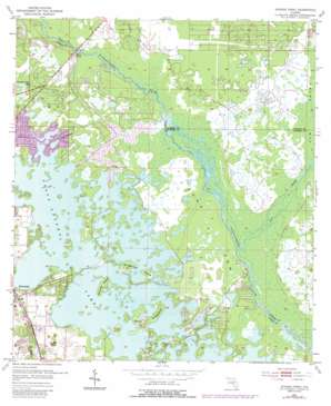 Stokes Ferry USGS topographic map 28082h3