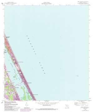Port Orange topo map