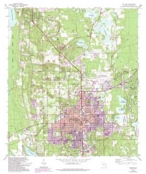 De Land USGS topographic map 29081a3