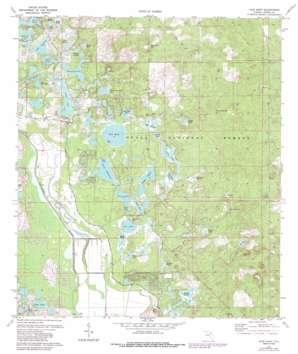 Lake Mary topo map