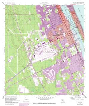 Daytona Beach USGS topographic map 29081b1