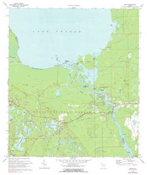 Astor USGS topographic map 29081b5