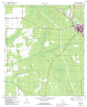 Bunnell USGS topographic map 29081d3