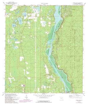 Eureka Dam USGS topographic map 29081d8