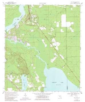 San Mateo topo map