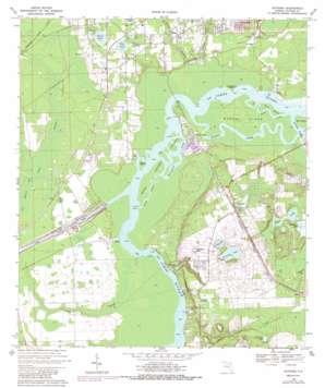 Satsuma USGS topographic map 29081e6