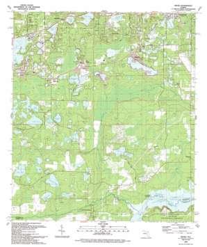 Keuka USGS topographic map 29081e8