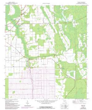 Spuds USGS topographic map 29081f4