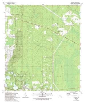Baywood USGS topographic map 29081f7