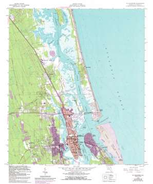 Saint Augustine USGS topographic map 29081h3
