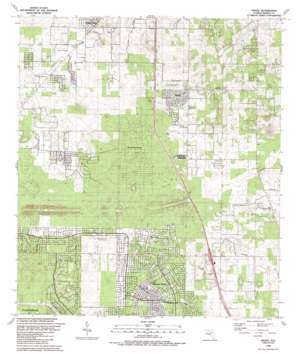 Shady USGS topographic map 29082a2