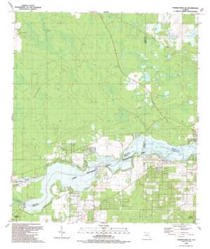 Yankeetown Se USGS topographic map 29082a5