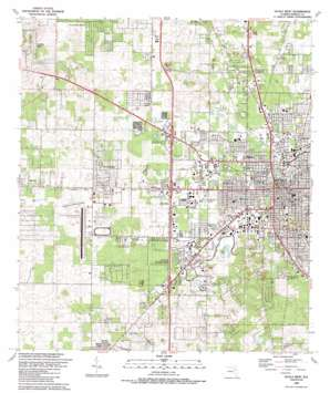Ocala West USGS topographic map 29082b2