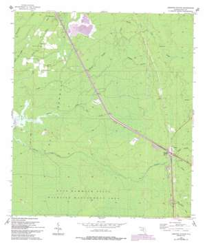 Lebanon Station USGS topographic map 29082b6