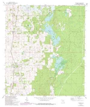 Anthony USGS topographic map 29082c1