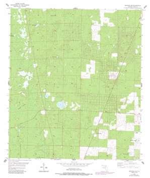 Bronson Se USGS topographic map 29082c5
