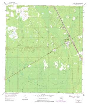 Otter Creek topo map