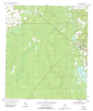 Bronson USGS topographic map 29082d6