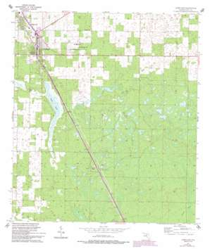 Chiefland USGS topographic map 29082d7