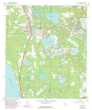 Hawthorne USGS topographic map 29082e1