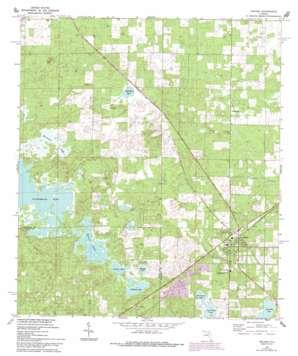 Archer USGS topographic map 29082e5