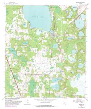 Melrose USGS topographic map 29082f1