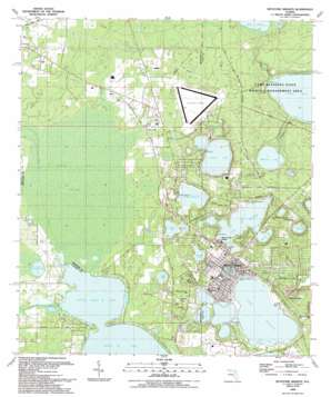 Keystone Heights USGS topographic map 29082g1