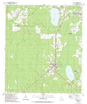 Waldo USGS topographic map 29082g2