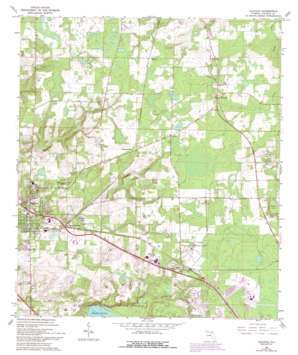 Alachua USGS topographic map 29082g4